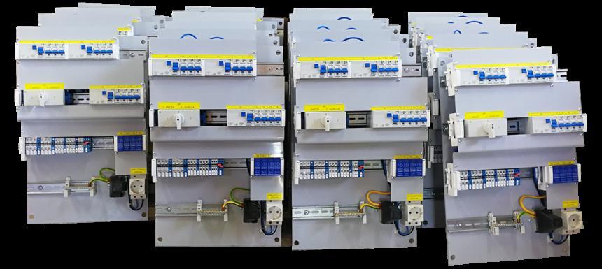 Opremanje razvodnih ormara EPM3 za TELE2 d.o.o. za telekomunikacijske usluge