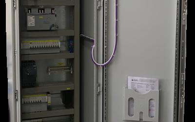 Izrada i opremanje elektro razvodnog ormara UO-1 za Varkom d.d objekt CS Vinkovščak, naručioc SIEMENS d.d.